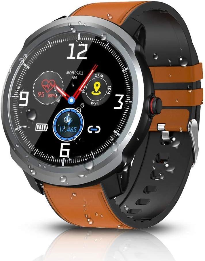 LAYAYA BYTTRON Reloj Inteligente, Bluetooth Smartwatch Fitness Tracker IP68 Rastreadores de Actividad Impermeables con GPS Registro Deportivo Podómetro Monitor de Monitor de presión Arterial Monitor