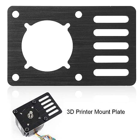 Oumij Motor de Pasos CNC Placa de Montaje Motor Accesorios de ...