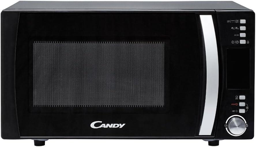 Candy CMXG 25DCB Encimera - Microondas (Encimera, Microondas combinado, 25 L, 900 W, Botones, Giratorio, Negro, Acero inoxidable)