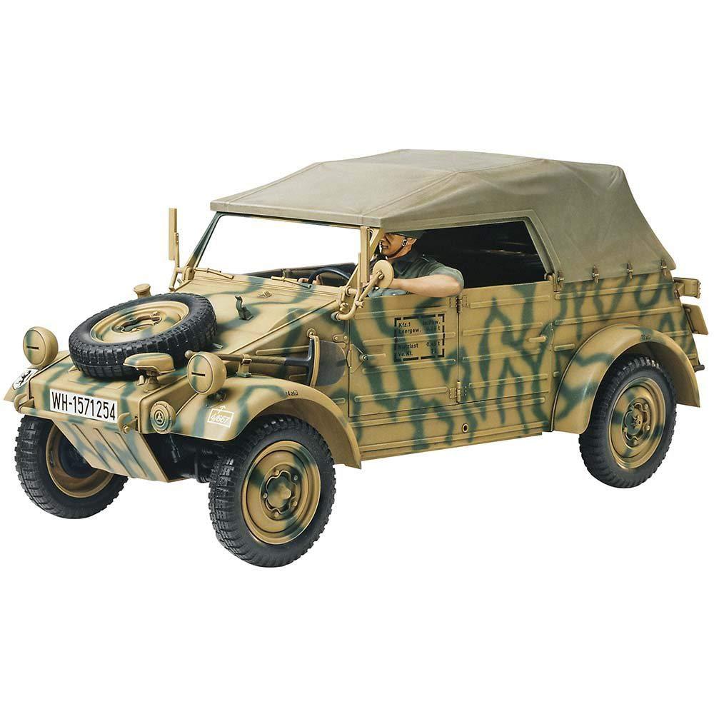 Tamiya America, Inc 1/16 German Kubelwagen Type 82, TAM36205