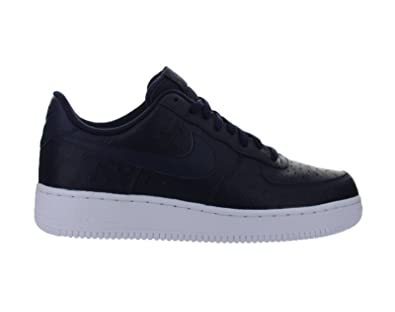 in stock 4a4c1 725ff Amazon.com   NIKE air Force 1  07 LV8 Mens Trainers 718152 Sneakers Shoes  (8.5 US, Obsidian White 402)   Fashion Sneakers