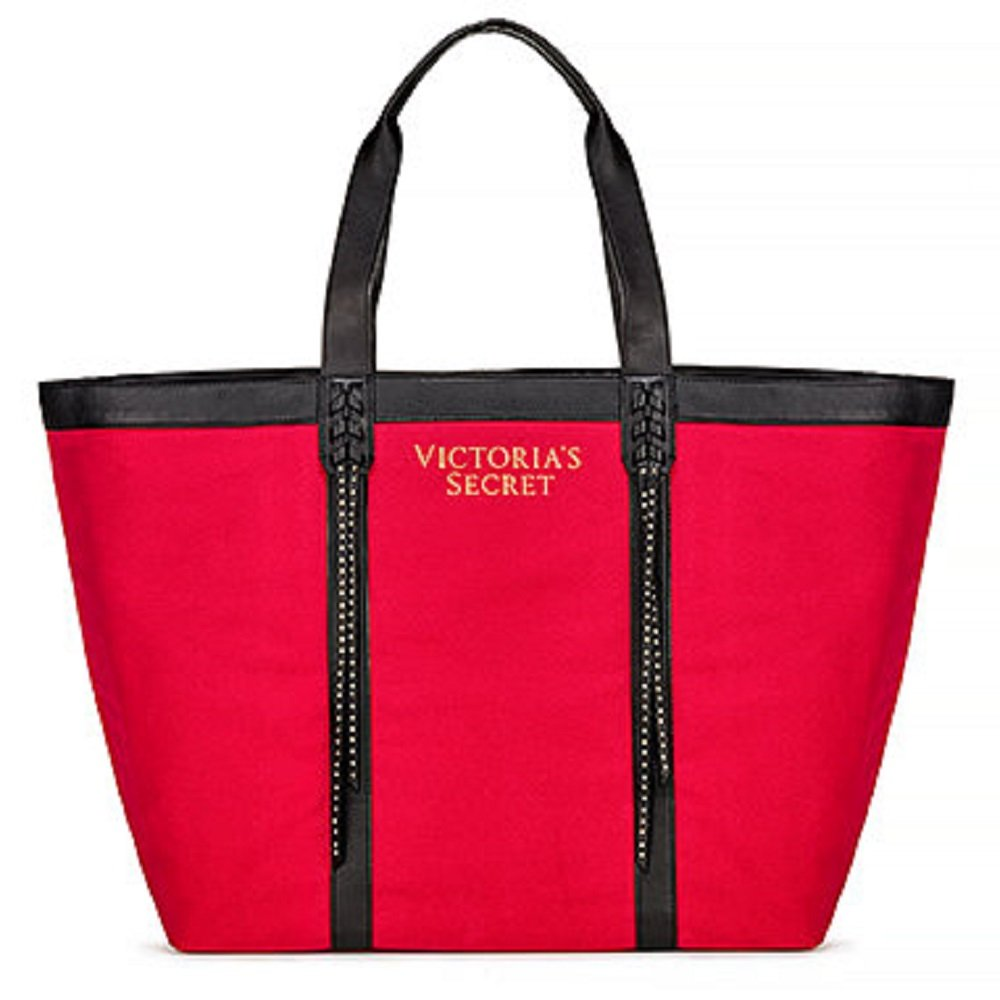Red and Black VS Tote Bag