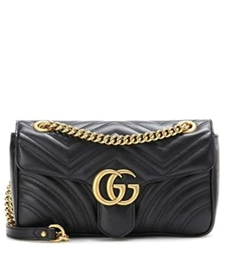 bcf4716336e Gucci GG Marmont Medium Matelassé Leather Shoulder Bag  Amazon.co.uk  Shoes    Bags