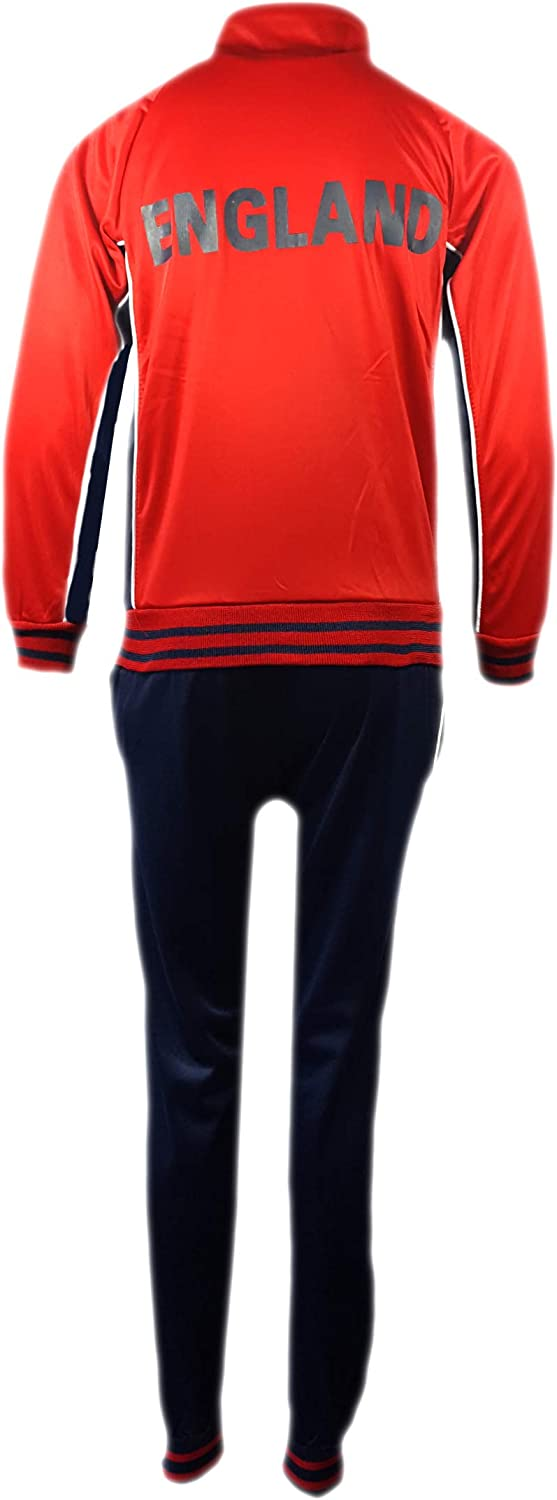 Football Tracksuit Set Bottom Top Training Kit Boys New Size Age 4-14 Years Bnwt