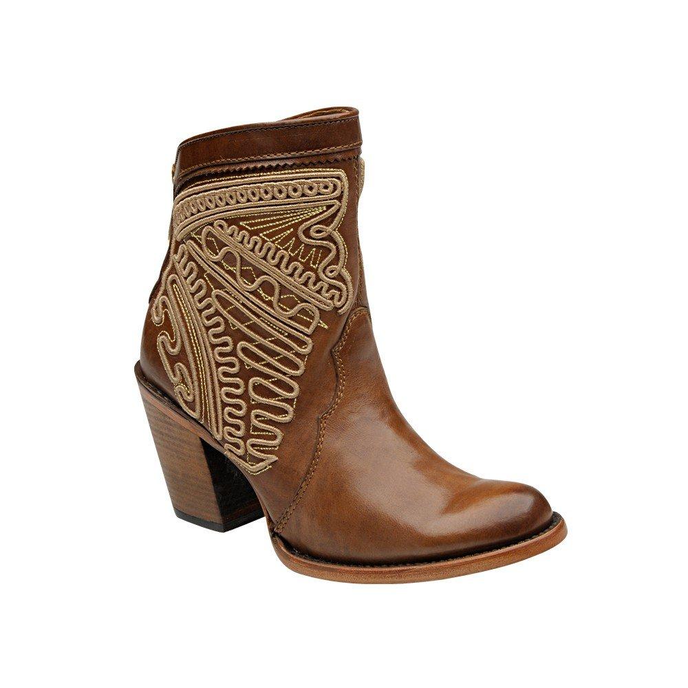 Damen Cowboystiefel Westernstiefel Kalbsleder Cuadra (handgefertigt) 1Z25VG