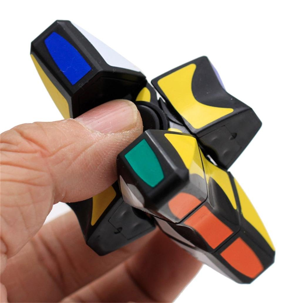 AMA Smooth and Speed 1x3x3 Rubiks Cube Puzzle Spinner Focus EDC ...