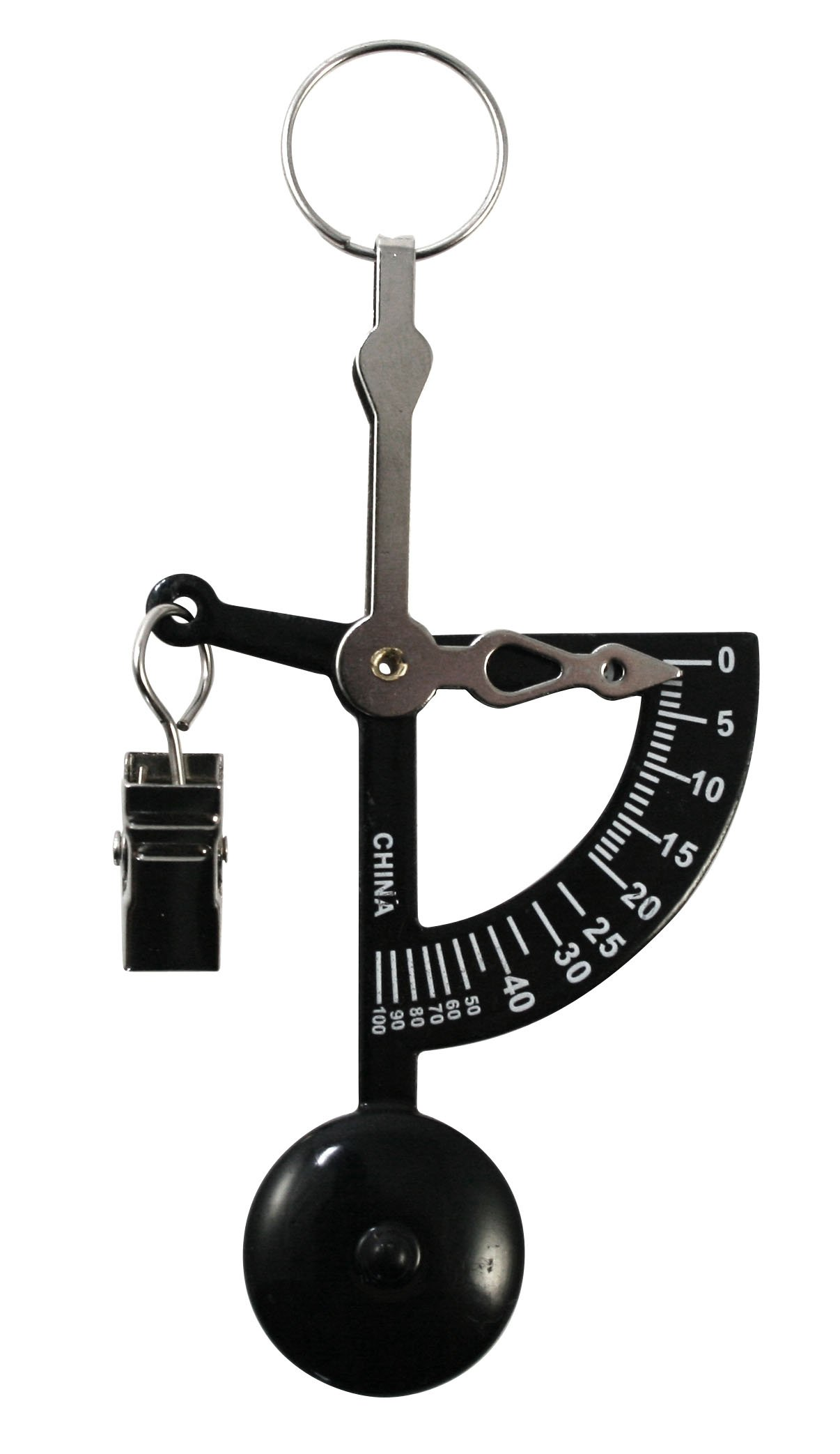 American Weigh Scales AMWHAND-BLK Black Hand Letter Scale with 100G and 4OZ Capacity