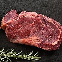 6 (8oz) Organic Grass-fed Ribeye Steaks - USDA certified organic, all natural, grass fed beef ribeye steak from american farmers