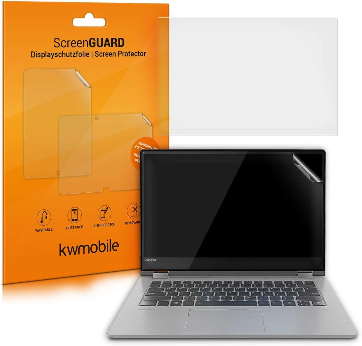 kwmobile Set de 2X láminas Protectoras Compatible con Lenovo Yoga 530 (14
