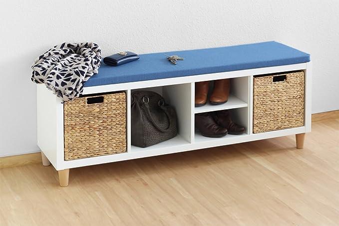 Inwona IKEA Kallax - Cojín para Asiento (111 x 39 x 4 cm ...
