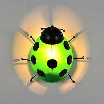 Deng Lámparas De Pared Moderno Led Peculiar Escarabajo De