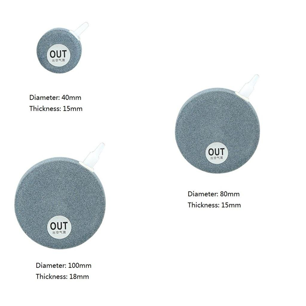 MagiDeal Aquarium Keramik Ausströmerstein Luftausströmer waschbar Sprudelstein erhöht Sauerstoffniveau