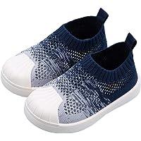DEBAIJIA Zapatos para Niños 1-7T Bebés Caminata Zapatillas Gradiente Color Suela Suave Malla Antideslizante PVC Material…