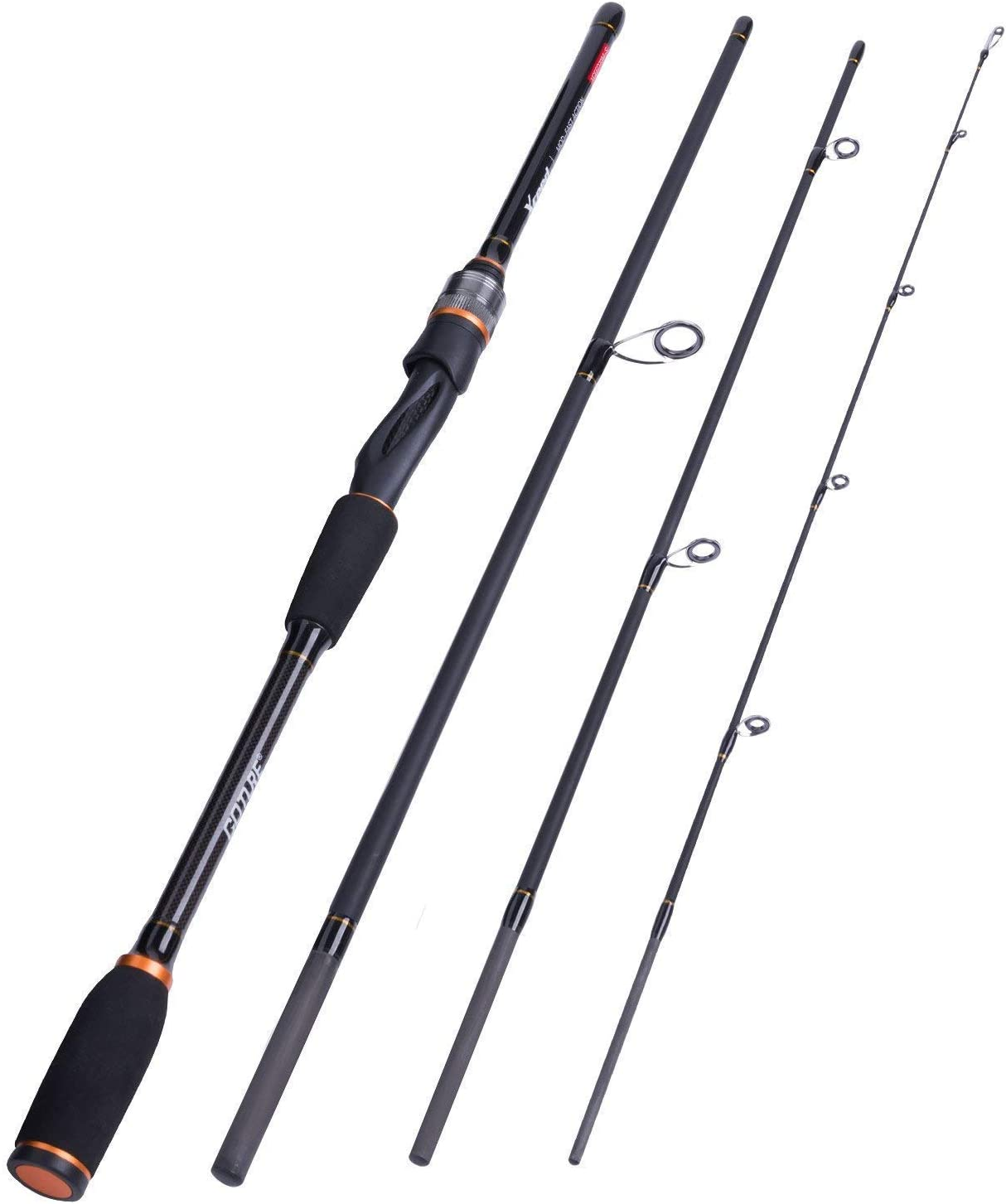 Goture Travel Fishing Pole Spinning Fishing Rods Sections