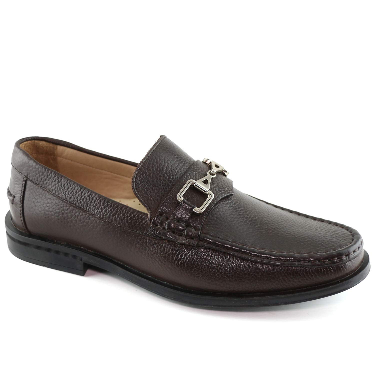 Bspringaaa korn herr Genuine läder Made Made Made in Brasilien Astoria Bit Loafer Marc Joseph ny Mode skor  outlet butik