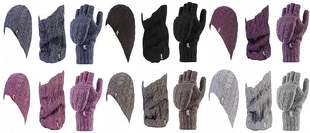 18201c867b8d HEAT HOLDERS - Ensemble bonnet, écharpe et gants - Femme
