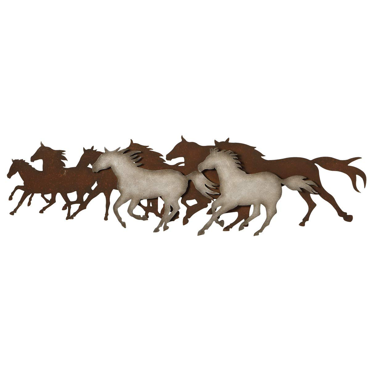 Midwest-CBK Galloping Horses Wall Décor