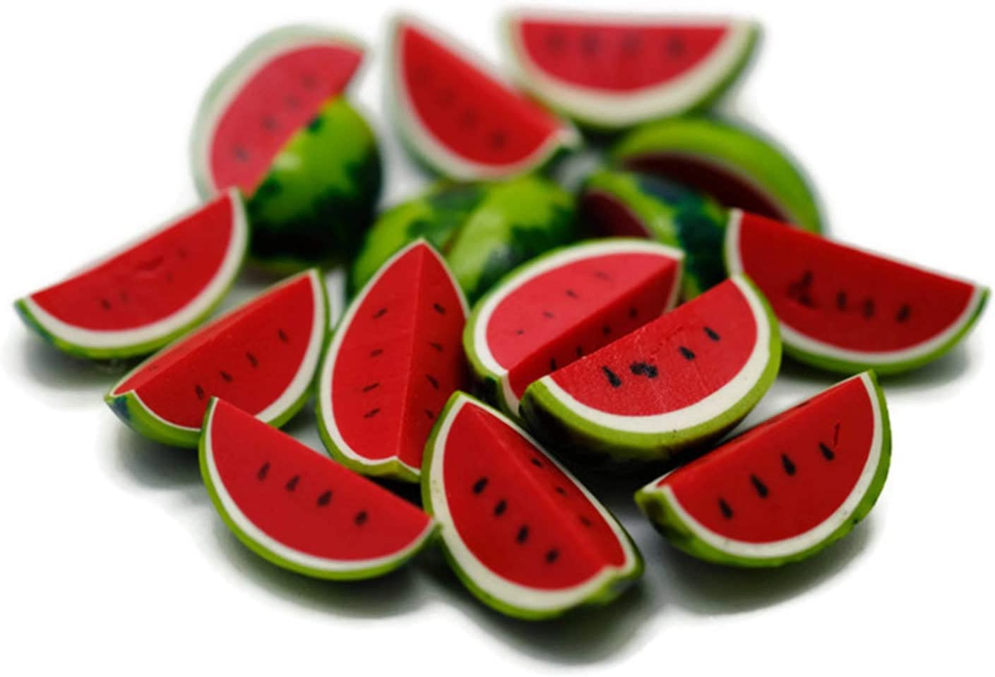 20 Psc Watermelon Dollhouse Miniatures Food Kitchen by Cool Price