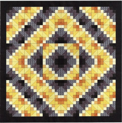Easy Quilt Kit Jacobs's Sunshine by Galaxy