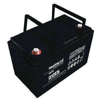 AGM 12 V batería Sunligth 75AH plomo trendspot batería para ...