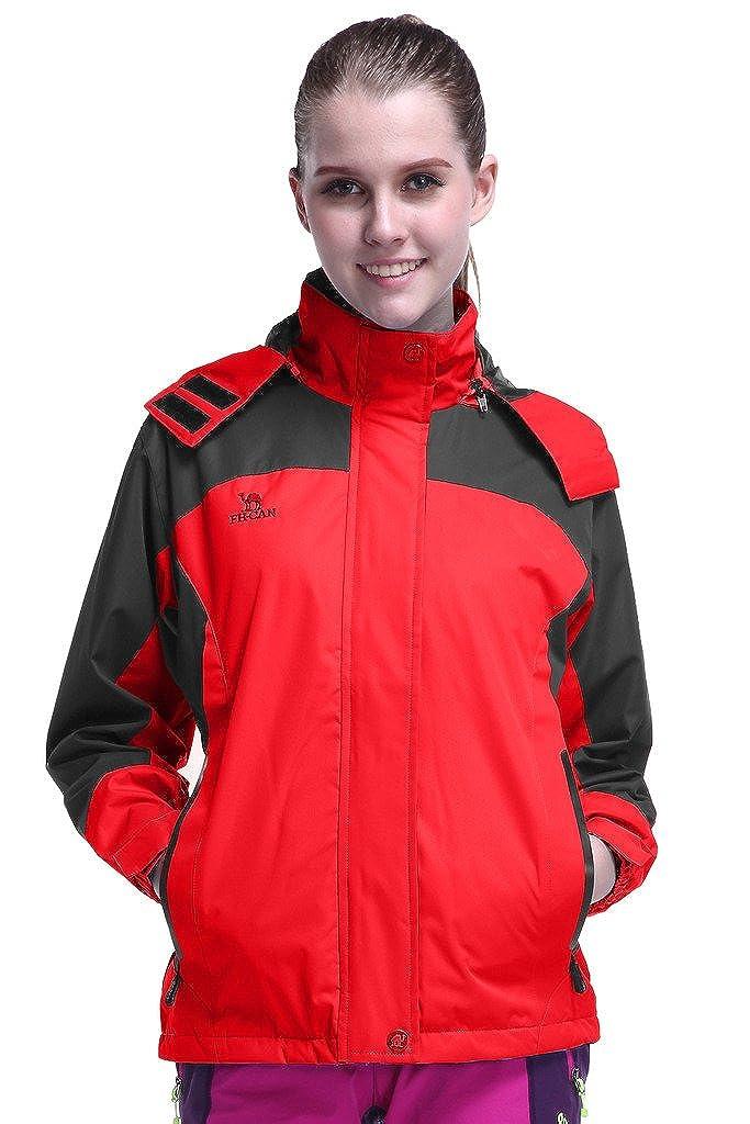 HengJia Womens Ski Jacket Snowboarding Waterproof Rain Jacket with Fleece Lining HengJia Trading Co. Ltd