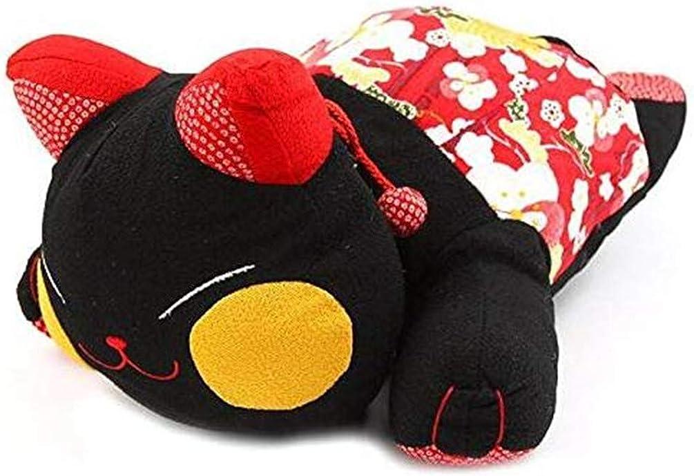 Black Sugar Giallo e Rosso colore: Rosa turchese Cuscino di peluche Kawai giapponese motivo: gatto