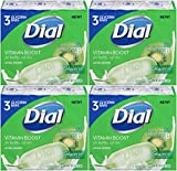 Dial Vitamin Boost Amazing B Lotion Infused Glycerin Bar Soap, 3 Count, 4