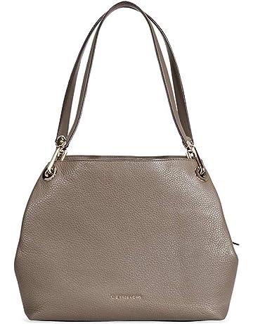 4483b51dcdc0 Michael Kors Raven Large Pebbled Leather Shoulder Bag