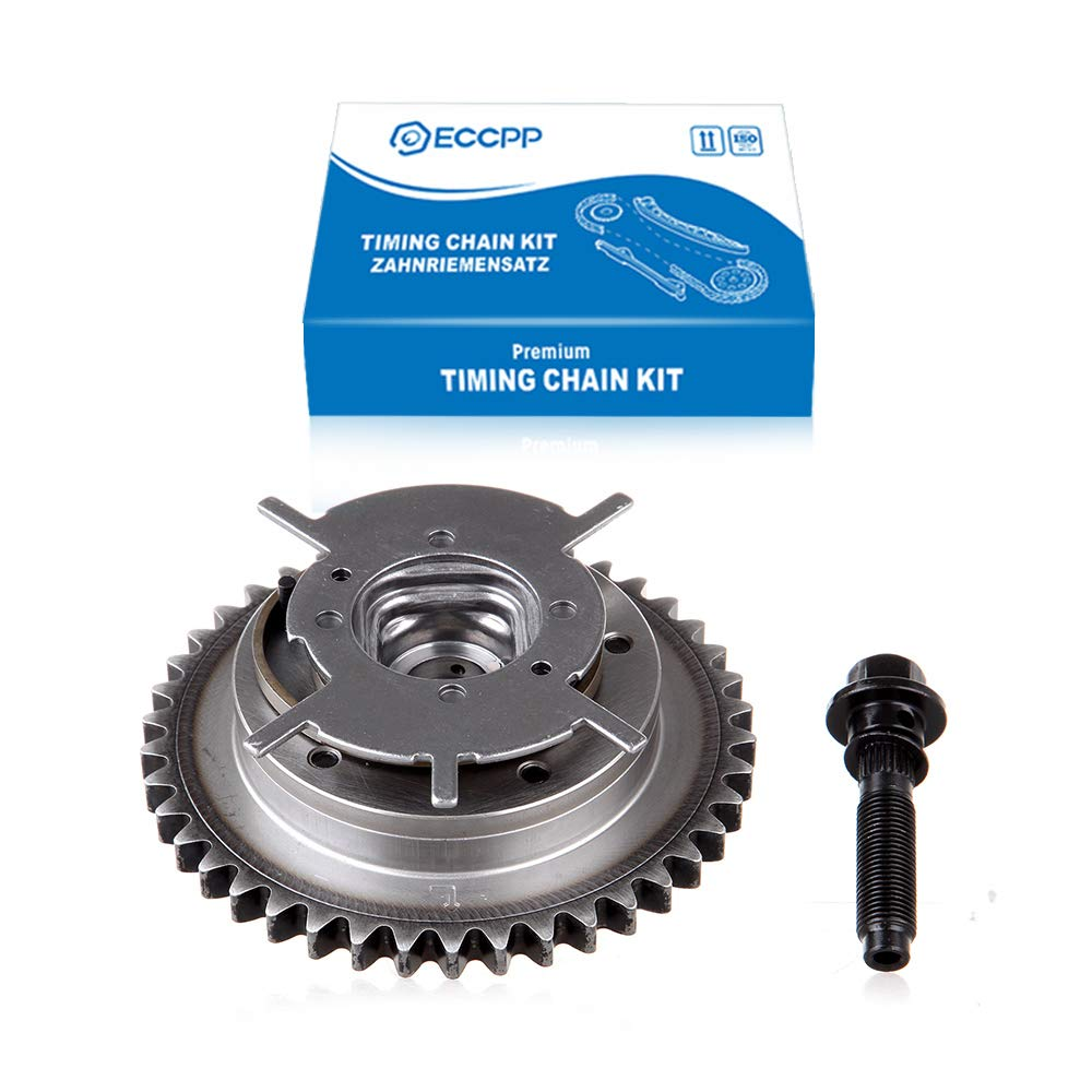 ECCPP Camshaft Phaser Variable Timing Cam Gear for 2004-2010 Ford Mercury Lincoln 4.6//5.4L