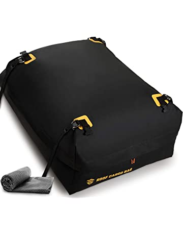 Car Top Carrier Roof Bag 100% Waterproof with Protective Mat Car Top Carriers for Vehicles