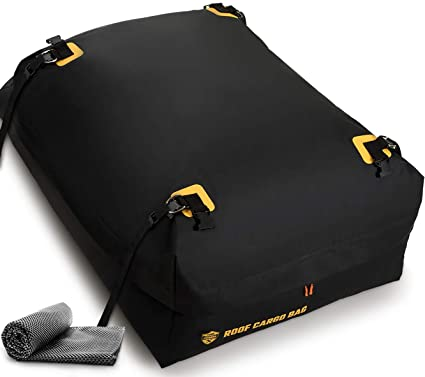 037c19a76de Car Top Carrier Roof Bag 100% Waterproof with Protective Mat Car Top  Carriers for Vehicles