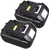 【SMTバッテリー】2個セット MAKITA マキタ BL1850 18V 5000mAh リチウムイオン 互換バッテリー