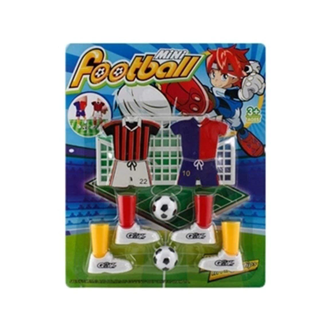 Fantasyworld Mini Soccer Game Finger Toy Match de Football drôle Set de Table de Jeu avec Deux buts
