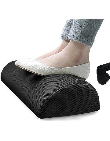 Reposapiés para Debajo del Escritorio, Almohada Resistente del Resto del pie del algodón, Soporte