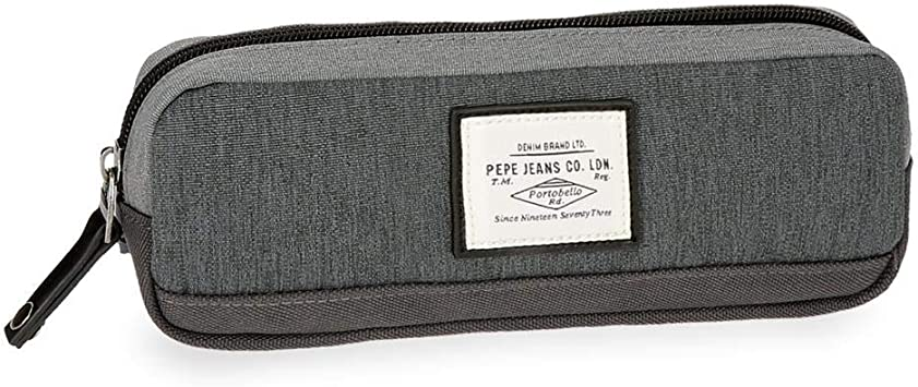 Estuche Pepe Jeans Roy gris: Amazon.es: Equipaje