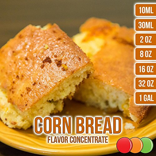 Flavored Corn - OOOFlavors Corn Bread Flavored Liquid Concentrate Unsweetened (30 ml)