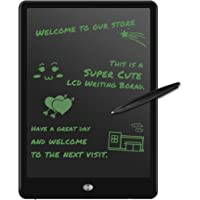 M.Way LCD Writing Tablet Drawing/Message/ Screen Handwriting Pad Paperless Drawing Writing Tool Graffiti Board with Stylus and Stand for Kids Family Memo Office Writing