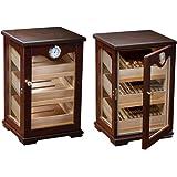 Counter Top Display Mahogany Display Cigar Humidor - 125 Capacity