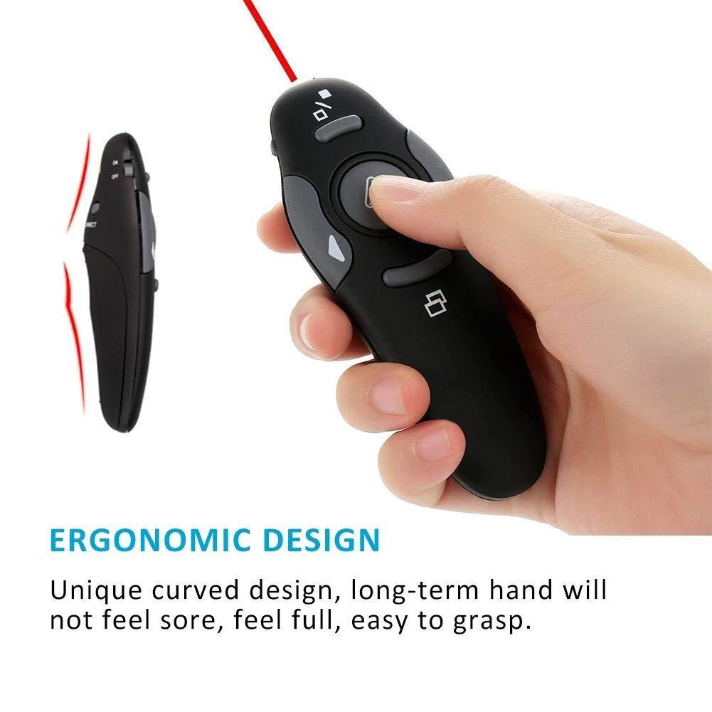 2.4GHz USB Presenter PowerPoint Remote Control Laser Pointer for PPT Remote Controller Clicker Flip Pen Wireless Presenter