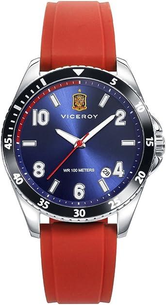 Reloj Viceroy Selección Española Oficial 42342-35 + Gorra de regalo: Amazon.es: Relojes