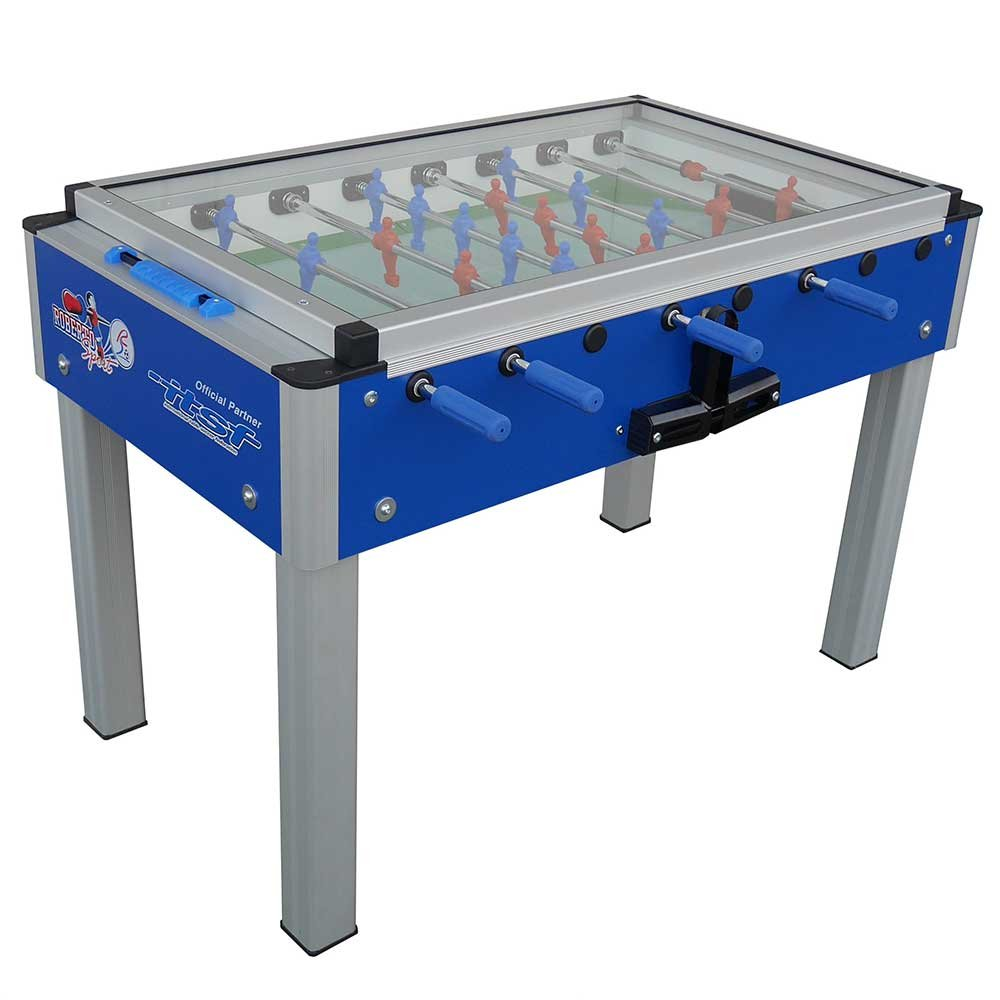 Roberto Sport College Pro Covered International Blue Foosball Table by Roberto Sport