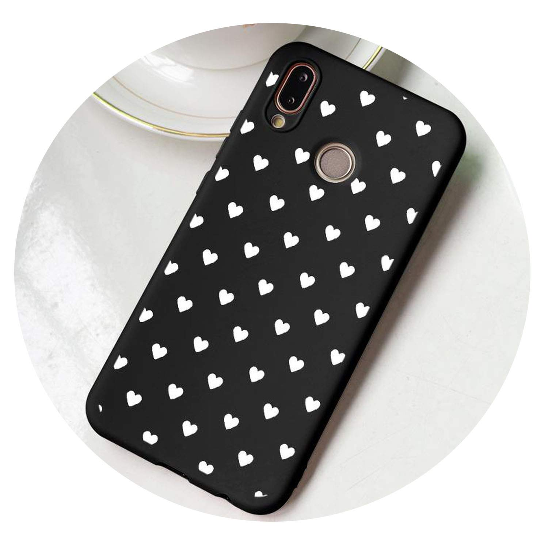 Amazon.com: Pink Matte Love Soft TPU Case for Huawei P30 P8 ...