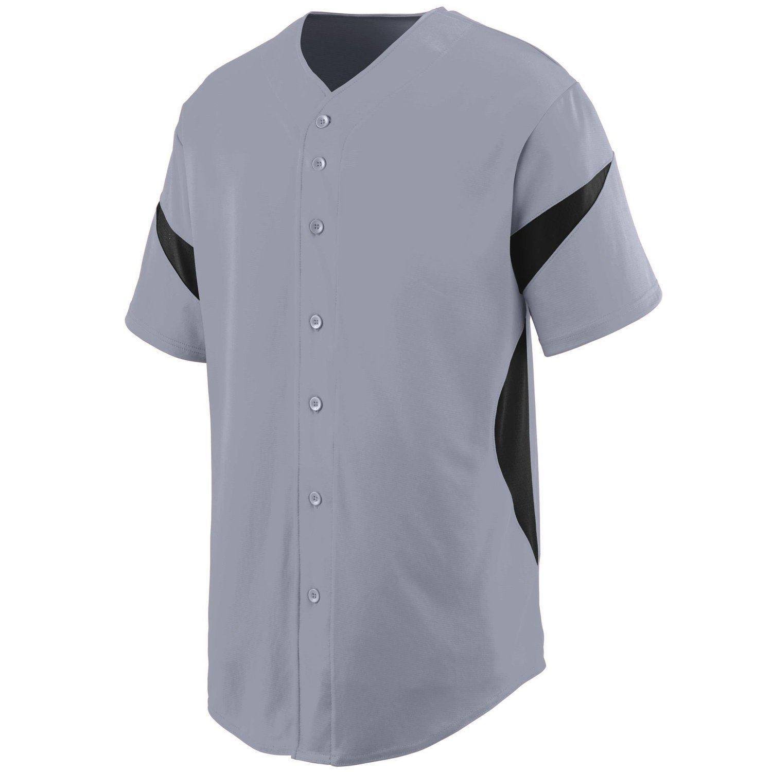 Augusta SportswearメンズホイールHouse Baseball Jersey B00P53S0FE XXX-Large|Blue Grey/Black Blue Grey/Black XXX-Large