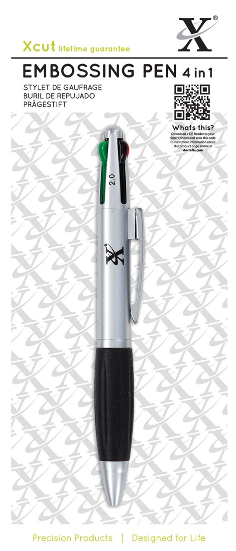 Xcut - Penna per goffratura 4 in 1 Docrafts XC268701