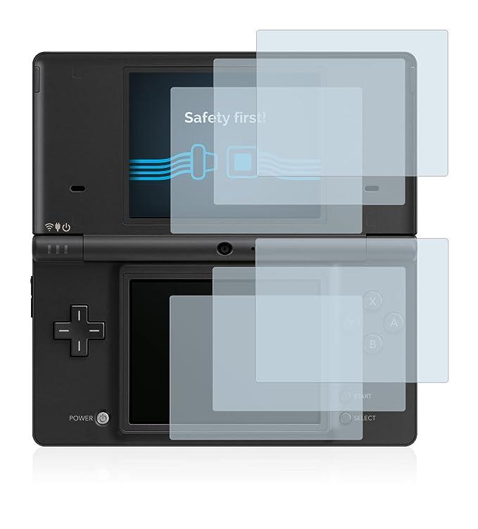 Savvies Protector de Pantalla para Nintendo DSi [6 Unidades] - Transparente