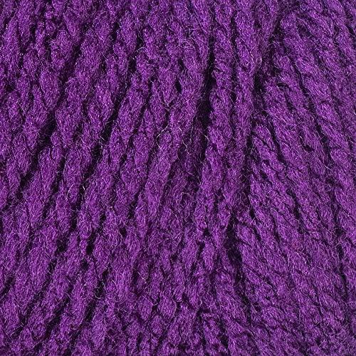Coats Yarn E400-1542 Red Heart With Love Yarn-Aubergine 3Pk