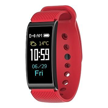 Kivors Pulsera Inteligente, Pulsera Actividad Impermeable IP68 con GPS Pulsómetro Monitor de Ritmo Cardíaco,