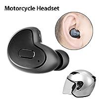 Avantree Mini In Ear Bluetooth Kopfhörer (Nur rechtes Ohr, Nicht für Anruf) für Motorradhelm GPS Navi, Podcasts, Audiobooks, Kabellos Unsichtbarer Kleiner Ohrhörer Ohrstöpsel, Wireless Kleinste Motorrad Headset - Apico