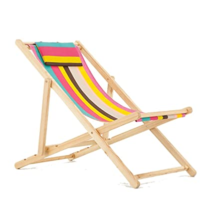 Amazon.com : L&J Beach Chaise lounges, Adjustable Folding Chairs ...