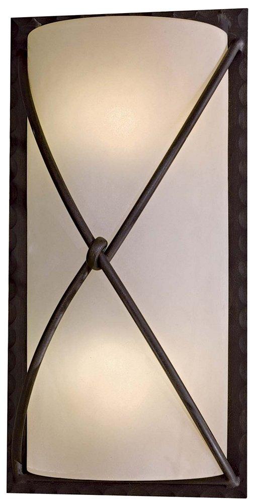 Minka Outdoor 72002-A138-PL, Aspen II Outdoor Wall Pocket Sconce Lighting, 26w Fluorescent, Bronze by Minka-Lavery [並行輸入品] B01IPGVMM0